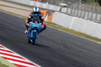 Navarro davanti nel Warm Up della Moto3™