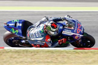 Warm-up MotoGP™ : Lorenzo le plus rapide