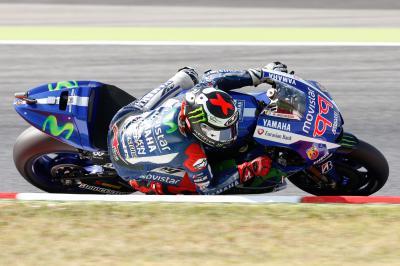 Lorenzo encabeza el Warm Up de MotoGP™