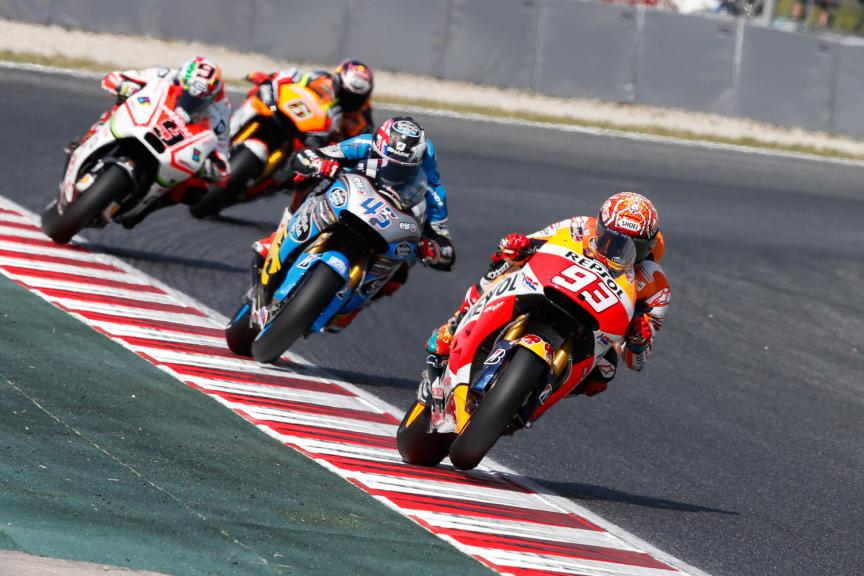 MotoGP Action - Catalan GP, MotoGP WUP