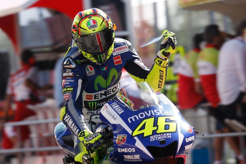 Valentino Rossi, Movistar Yamaha MotoGP - Catalan GP, MotoGP QP