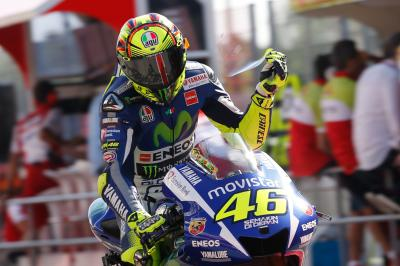 "Rossi: ""My speed is equal to Jorge"""