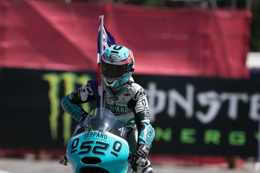 Danny Kent, Leopard Racing - Catalan GP, Moto3 RAC