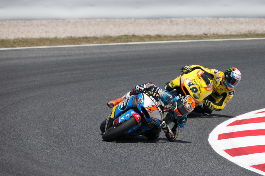 Tito Rabat, Alex Rins - Catalan GP, Moto2 RAC