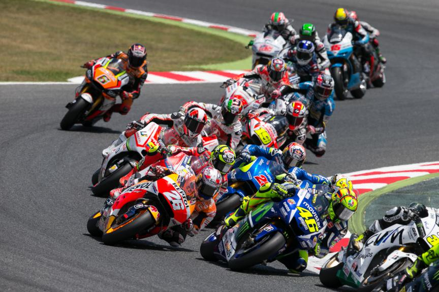 MotoGP Action - Catalan GP, MotoGP RAC