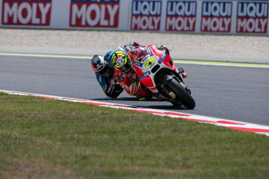 Andrea Iannone, Scott Redding - Catalan GP, MotoGP RAC