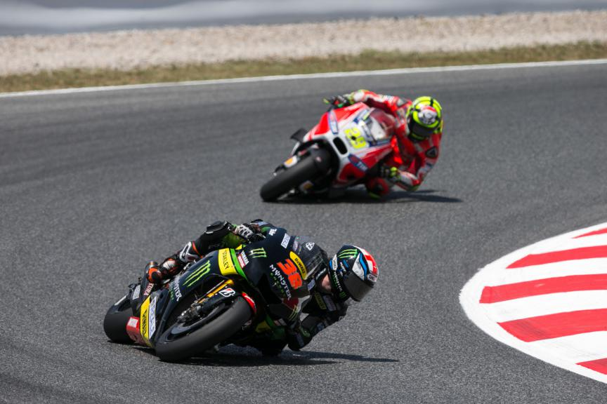 Bradley Smith, Andrea Iannone - Catalan GP, MotoGP RAC