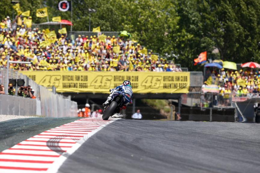 Jorge Lorenzo, Movistar Yamaha MotoGP - Catalan GP, MotoGP RAC