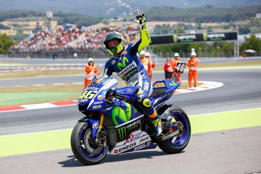 Valentino Rossi, Movistar Yamaha MotoGP - Catalan GP, MotoGP RAC