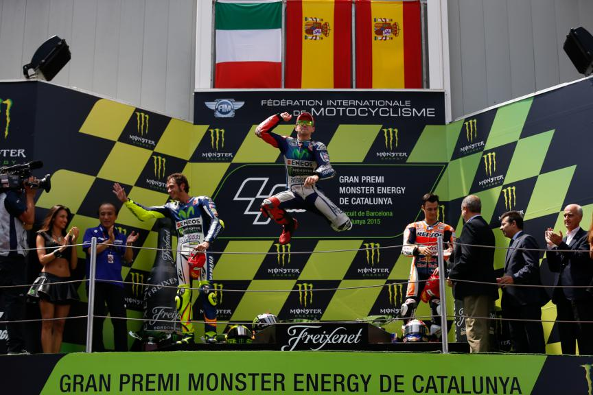 Podium - Catalan GP, MotoGP RAC