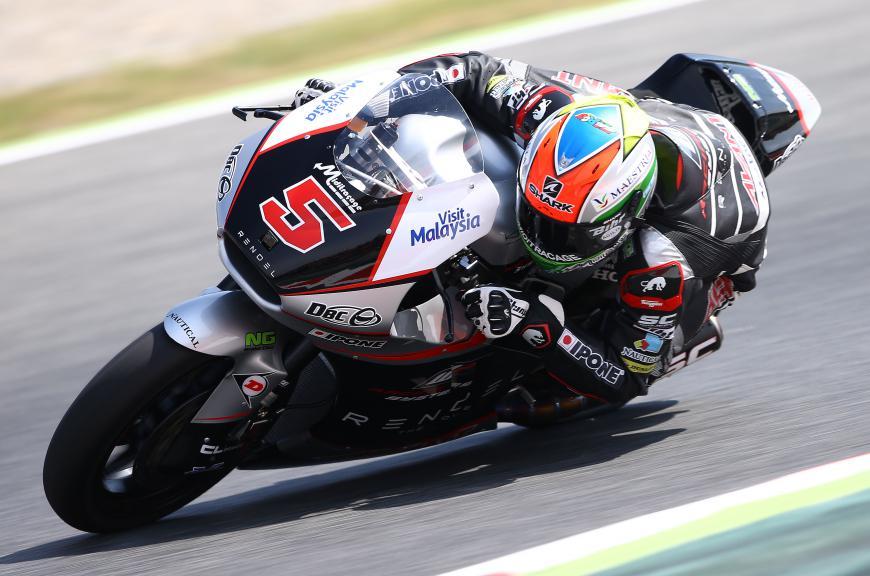 Johann Zarco, Ajo Motorsport - Catalan GP, Moto2 RAC