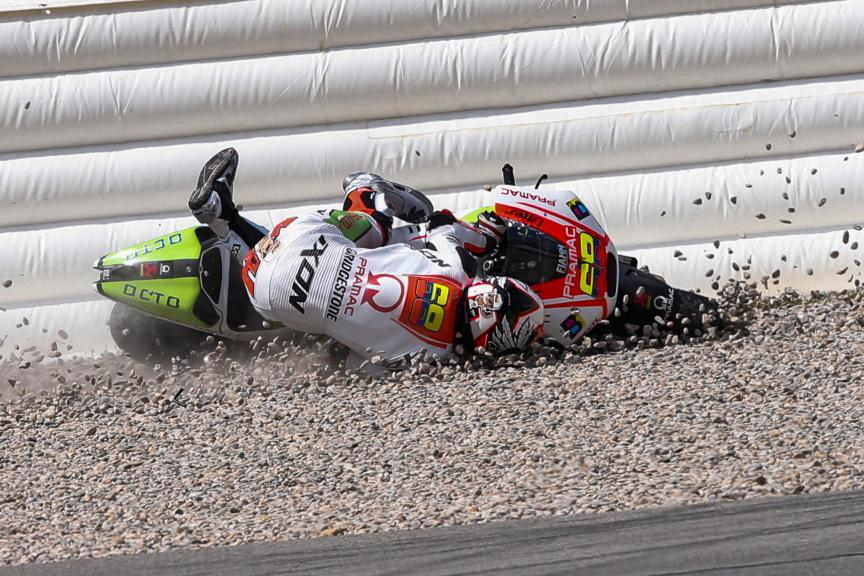 Yonny Hernandez, Octo Pramac Racing - Catalunya Post-GP Test