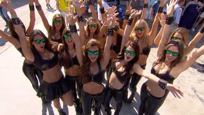 Las chicas del paddock del #CatalanGP