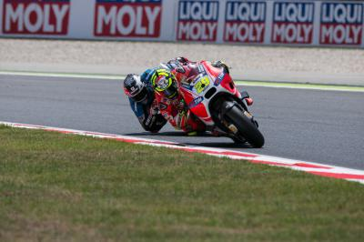 "Iannone: ""It was a very difficult race"""