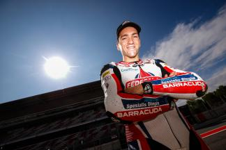 Xavier Simeon, Federal Oil Gresini Moto2 - Catalunya Post-GP Test