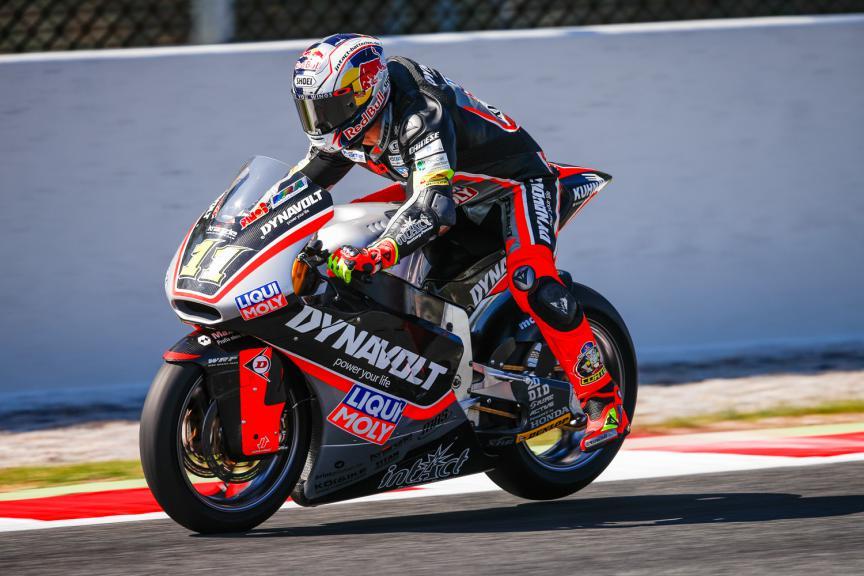 Sandro Cortese, Dynavolt Intact GP - Catalunya Post-GP Test