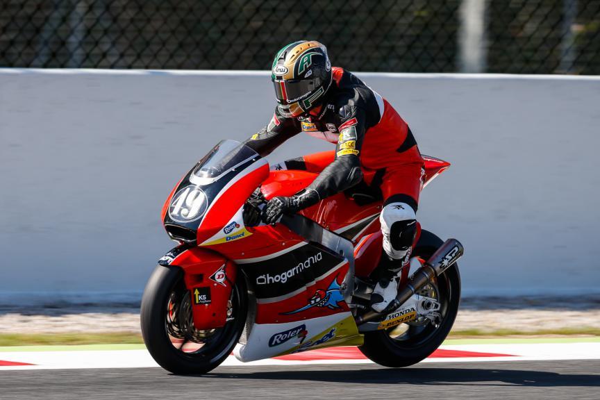 Axel Pons, AGR Team- Catalunya Post-GP Test