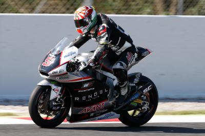Moto2™ Paddock gets to grips with new tyres at test