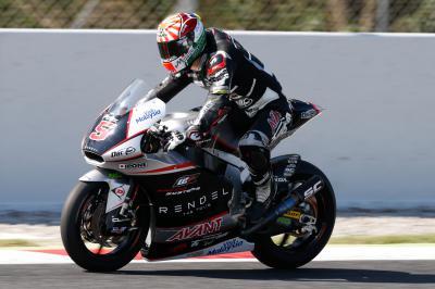 Los pilotos de Moto2™ vuelven a pista en Barcelona