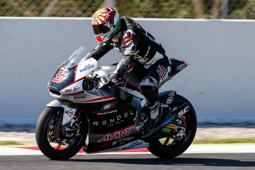 Johann Zarco, Ajo Motorsport - Catalunya Post-GP Test