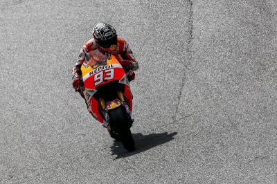 "Marquez: ""The first impressions were good"""
