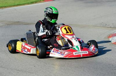 Watch Hernandez, Laverty and de Angelis racing karts