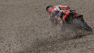 Marquez struggles with the fine line between glory & gravel