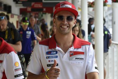 """Iannone: """"Mi sento parte della famiglia Ducati"""""""
