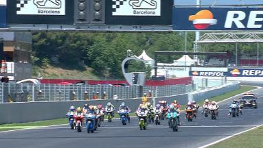 Joan Mir takes the flag at CEV Repsol Moto3 Race 2