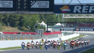 Aròn Canet domina la carrera 1 del FIM CEV Repsol de Moto3
