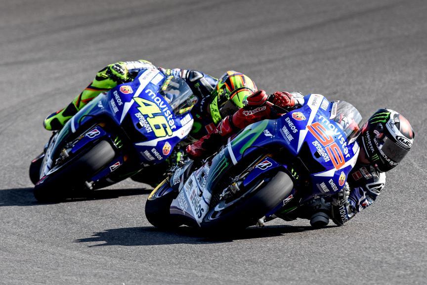 Jorge Lorenzo, Valentino Rossi, Movistar Yamaha MotoGP