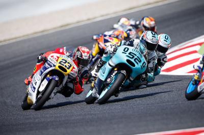 Moto3™ llega a la Catedral del motociclismo