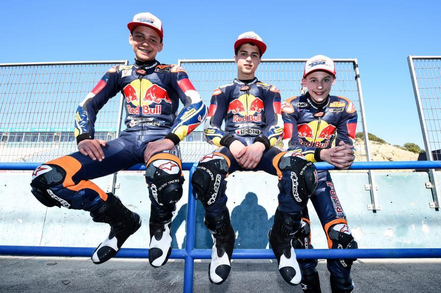 Bo Bendsneyder, Robert Schotman, Walid Soppe, Red Bull Rookies Cup