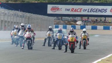 World GP Bike Legends Jerez - Rennen 2