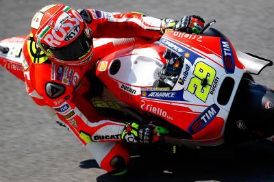 """Iannone: """"Tenemos una moto con mucho potencial"""""""