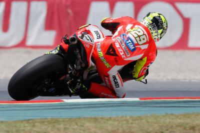"Iannone: ""Assen has been tough for Ducati"""