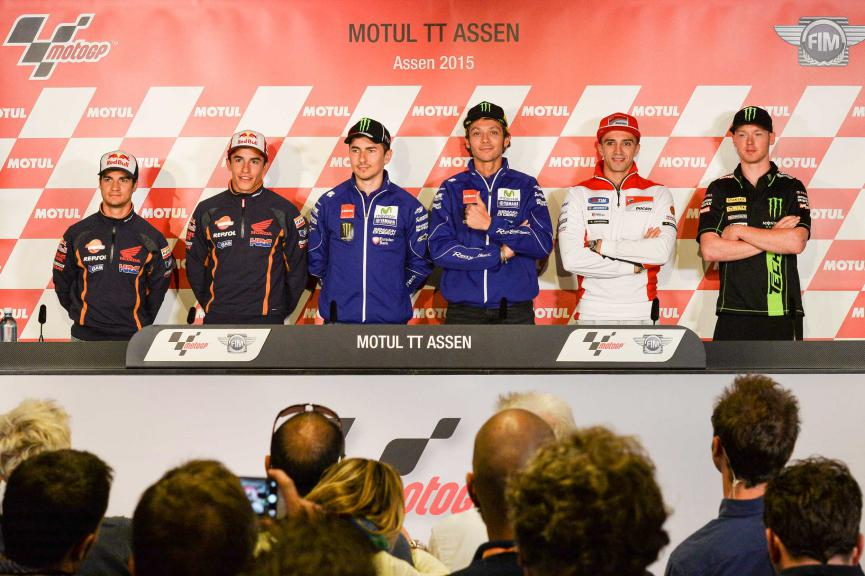 Motull TT Assen Press Conference