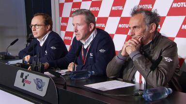 Mike Webb sobre las tácticas de remolque en Moto3™