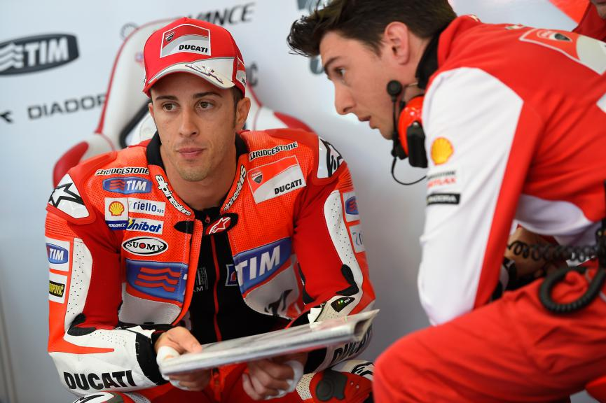 Andrea Dovizioso, Ducati Team, Assen FP2