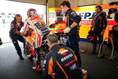 """Márquez: """"Consegui rodar a bom ritmo com o pneu usado"""""""