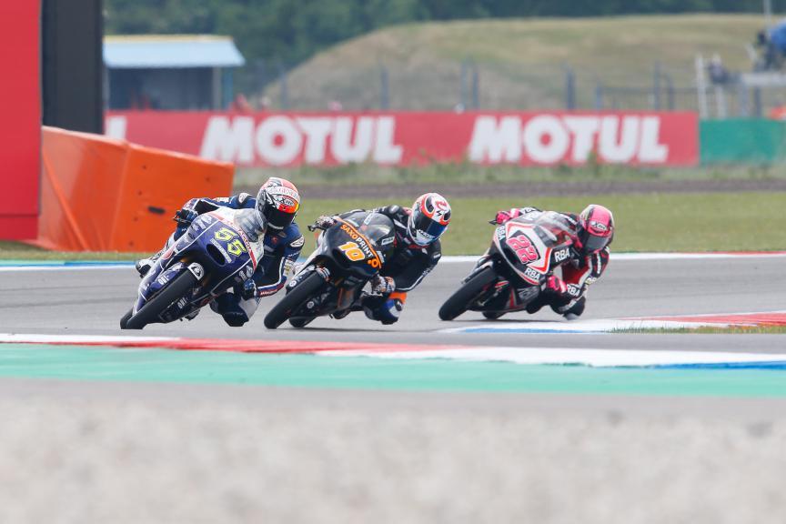Moto3 Action, Assen FP2