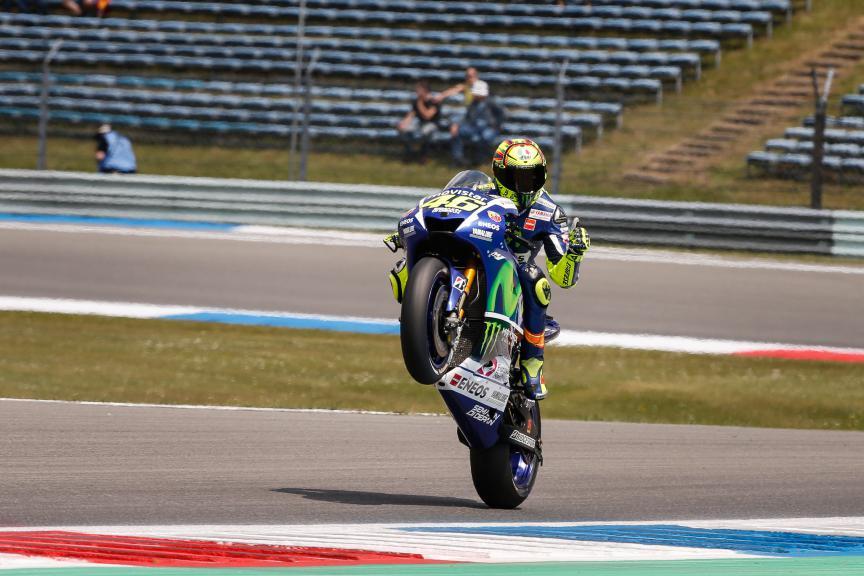 Valentino Rossi, Movistar Yamaha MotoGP, Assen FP2