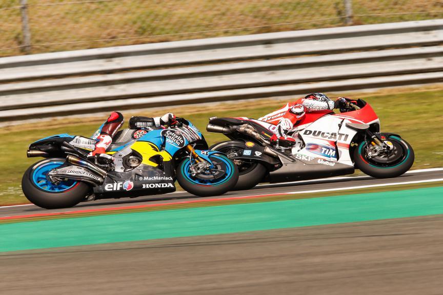 Andrea Dovizioso, Scott Redding, Ducati Team, EG 0,0 Marc VDS, Assen FP2