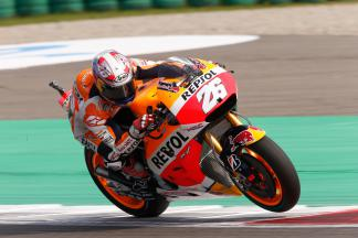 Record-breaking Pedrosa heads first day of Free Practice