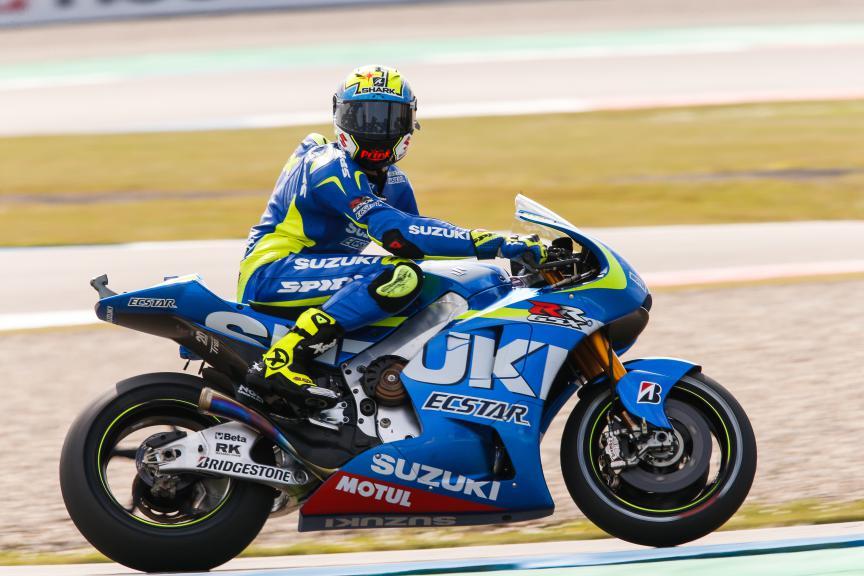 Aleix Espargaro, Team Suzuki Ecstar, Assen FP2