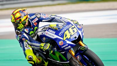 Rossi : « Un bon début de week-end »