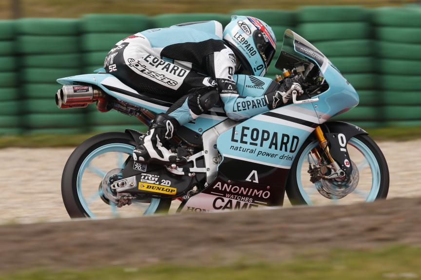 Danny Kent, Leopard Racing - Dutch GP, Moto3 FP1