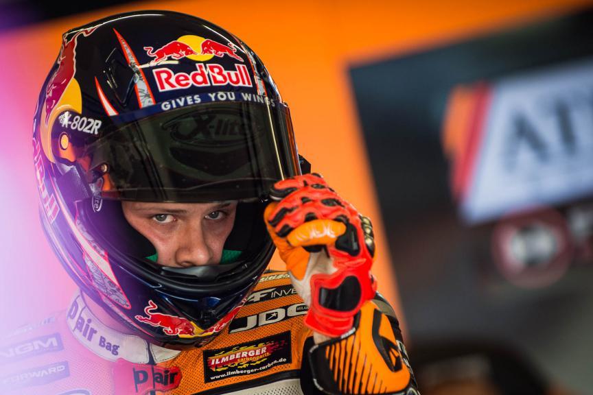 Stefan Bradl, Athinà Forward Racing, Assen FP1 © 2015 Scott Jones, PHOTO.GP