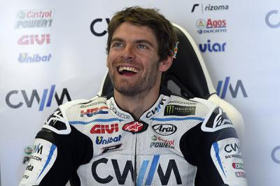 "Crutchlow: ""It was a strange day but I'm pleased"""