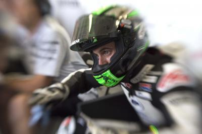 "Laverty: ""The grip in corner entry is incredible"""